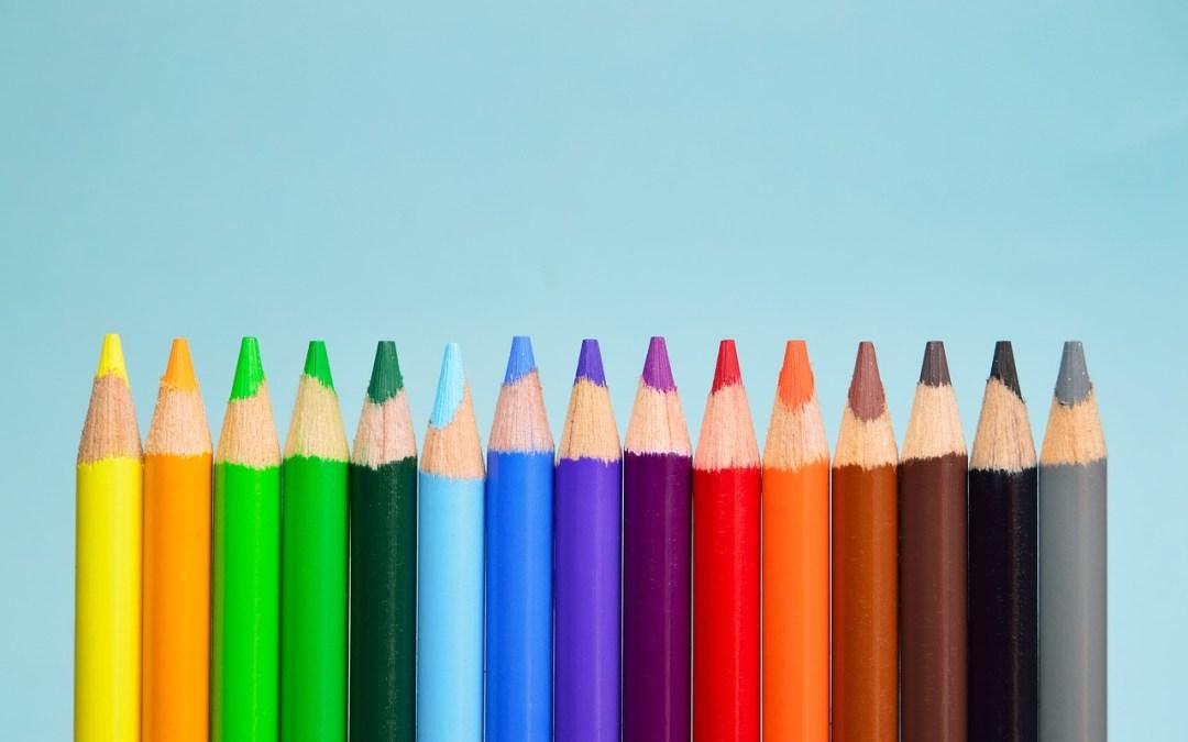 Auswahl der Farbe einer Zahnkrone