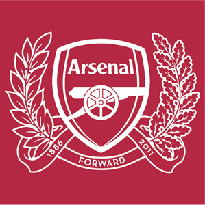arsenal logo vector ai free download