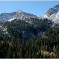 Toward White Pine Lake....