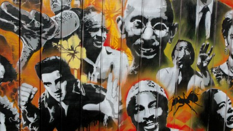 Utah Arts Alliance Legends mural close-up 4