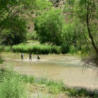 Crossing the Verde River
