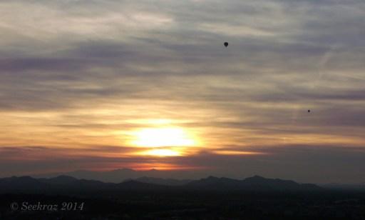 Sunset flight 1