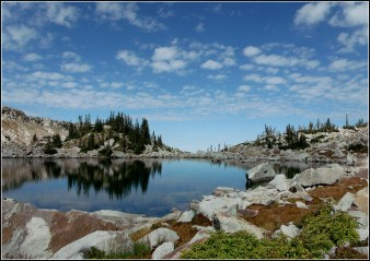 Upper Red Pine Lake, Little Cottonwood Canyon
