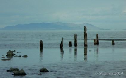 Black Rock Resort pier pilings 4