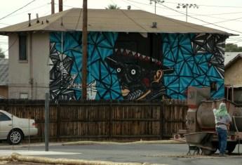 third cabeza curiosa mural