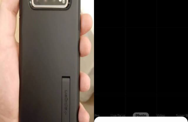 Camera Keeps showing Refining Picture and crashing on Samsung S10