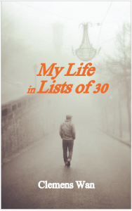 my life in lists of 30