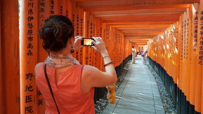kyoto fushi inari gates