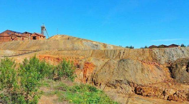 Pyritmine Lousal Portugal Farbenpracht