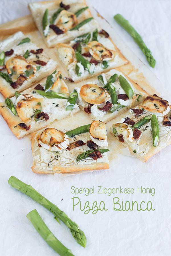Pizza-Bianca-Spargel Ziegenkaese-TitelA