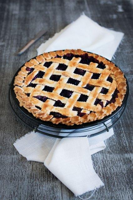Blueberry Pie   seelenschmeichelei.blogspot.com
