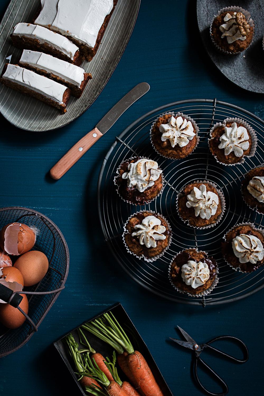 Gesunde Carrot Cupcakes ohne Zucker und Gluten | seelenschmeichelei.de