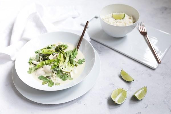 Gruenes Thai Curry mit Huhn   seelenschmeichelei.de