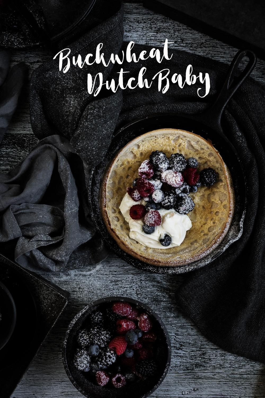 Buchweizen Dinkel Dutch Baby mit Beeren | seelenschmeichelei.de