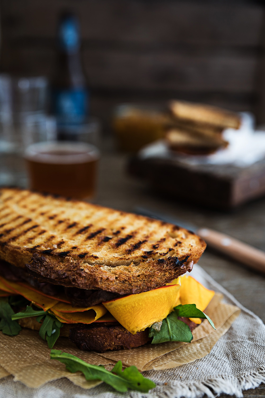 Roastbeef Sandwich   Mango Chutney   Blue Cheese Cream   seelenschmeichelei.de