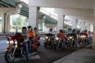 6 - Harley Davidson on the road