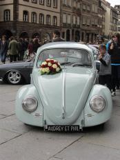 10 - Hochzeitsauto vor dem Münster