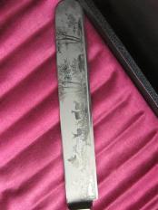 12 - handgraviertes Messer
