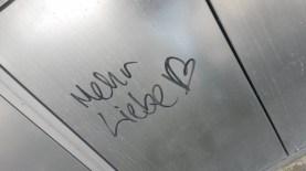 Grafitti-Liebe