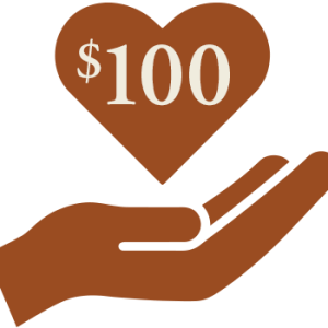 $100 donation to the Seelos Shrine