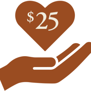 $25 donation to the Seelos Shrine