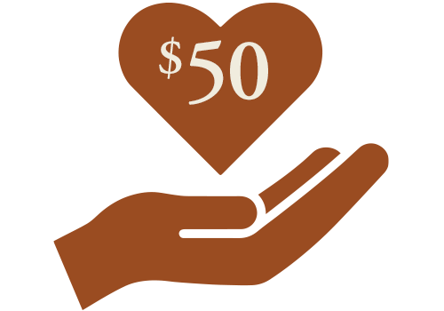 $50 donation to the Seelos Shrine