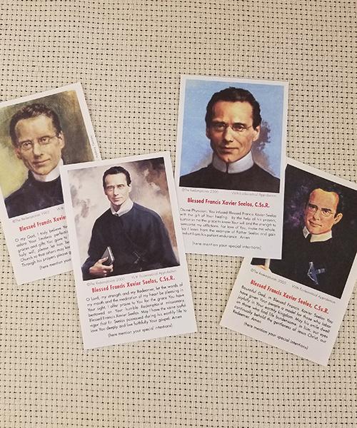 Seelos Paper Prayer Cards 100-Pack