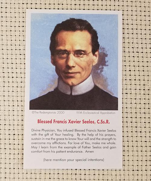 """Divine Physician"" Paper Prayer Card"