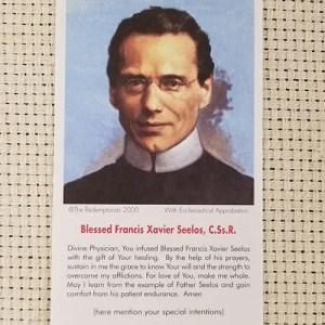 """Divine Physician"" Paper Prayer Card"