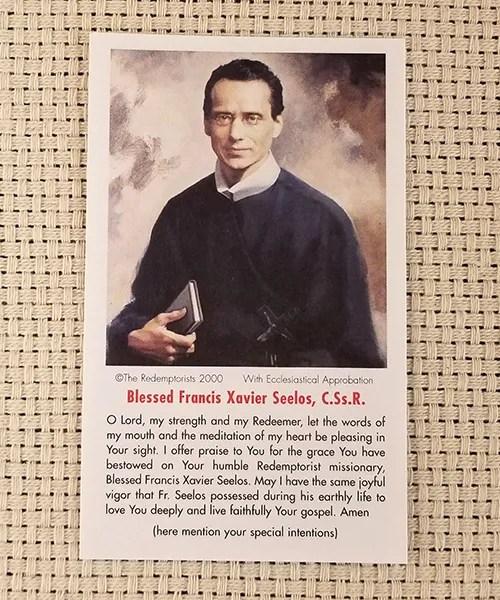 """My Strength and My Redeemer"" Paper Prayer Card"