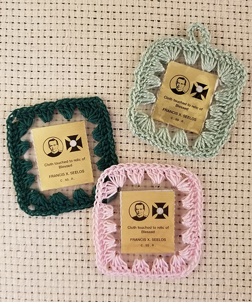 3rd Class Relic Crocheted Scapular