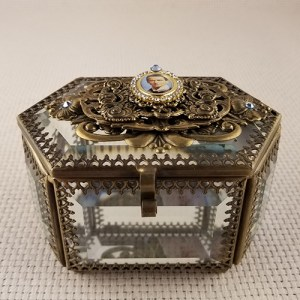 Large Glass Prayer Box