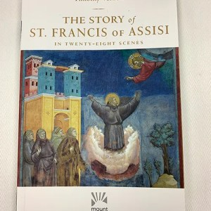 """""""The Story of St. Francis of Assisi in Twenty-Eight Scenes"""" Book"""