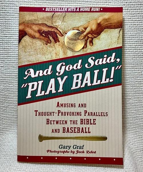 And God said play ball