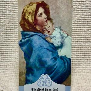 Mother prayer card
