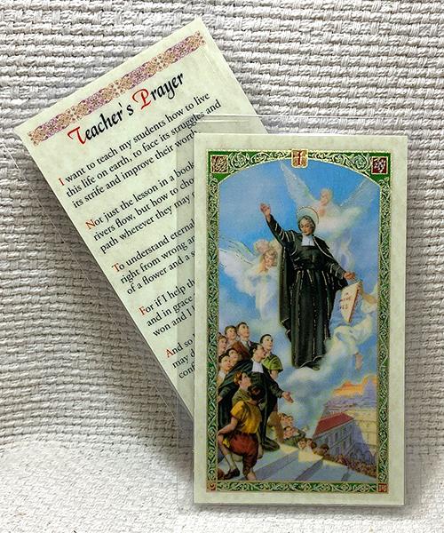 Teacher's Prayer Card