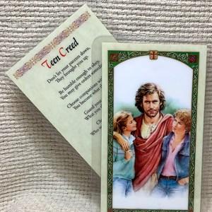 Teen Creed prayer card