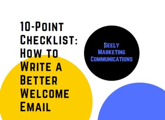 10-Point Checklist: How to Write a Better Welcome Email guide
