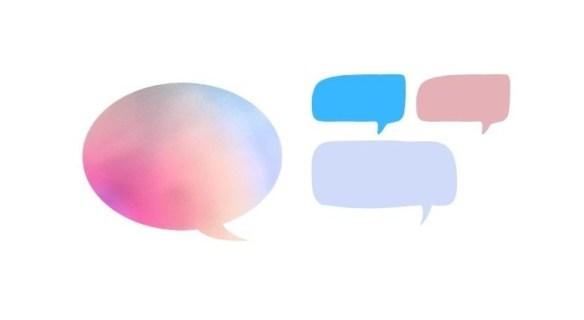 Testimonial bubbles