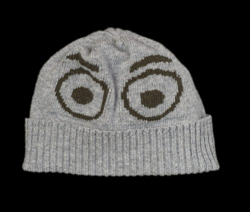 Benji Grey Cashmere Reflective Hat