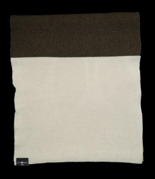 Emma Large White Cashmere Scarf