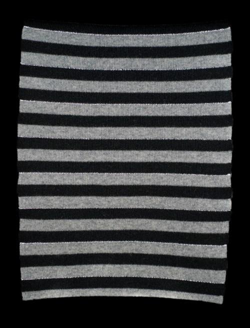 Lalla black Cashmere Reflective Scarf