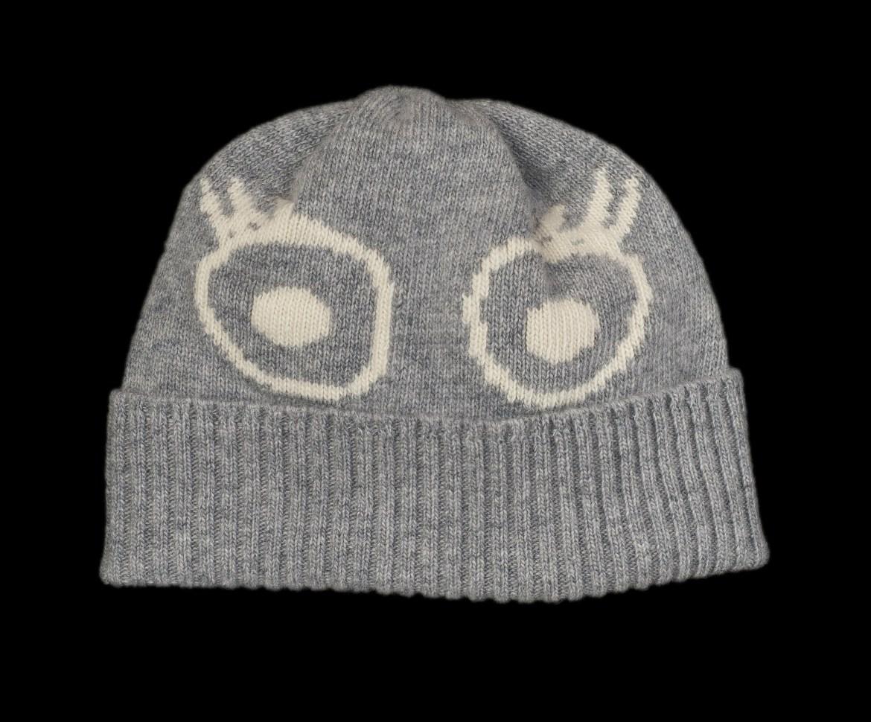 Sofia Grey Cashmere Hat