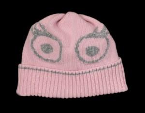 Sofia Pink Cashmere Hat