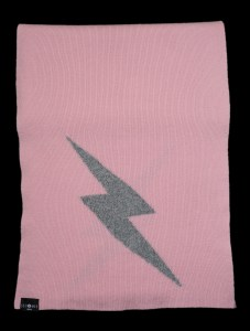 Thor Large Pink Cashmere Scarf