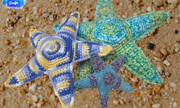 Free Crochet Softie Pattern – Starfish