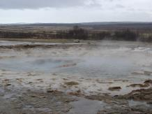 Strokkur - just before an eruption