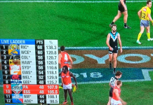 AFL Live Ladder