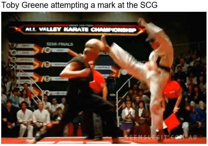Toby Greene Fly Kick