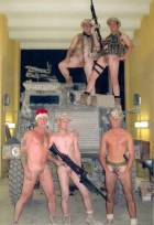 Naked Straight Buddies, Marines, Soldiers